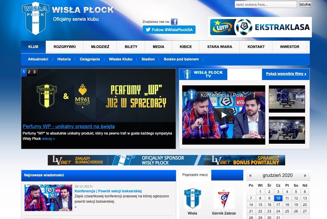 Wisła Płock – strona klubu