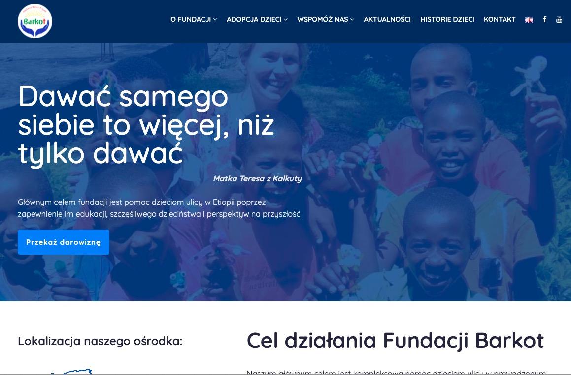 Fundacja Barkot – nowa witryna