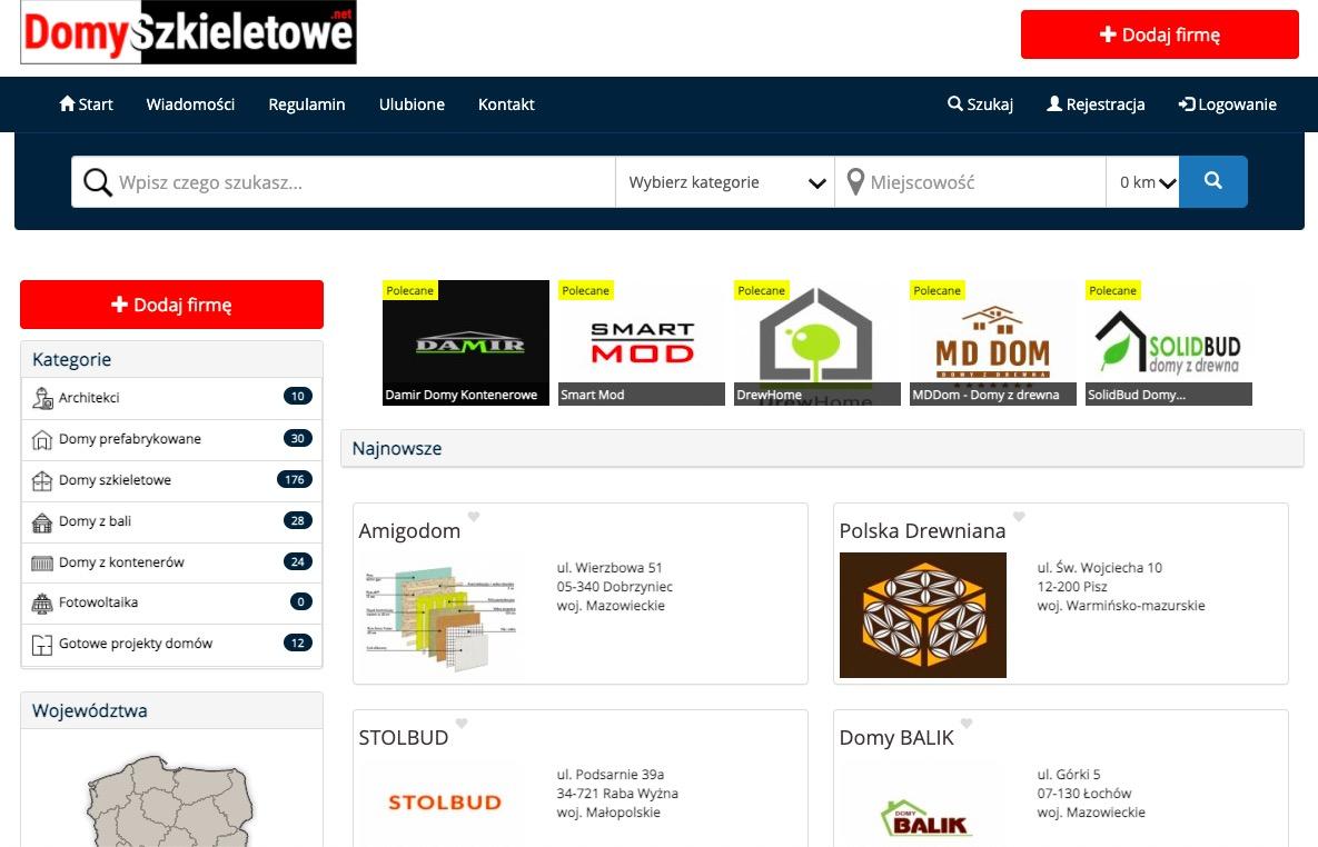 Katalog firm budowlanych – DomySzkieletowe.net